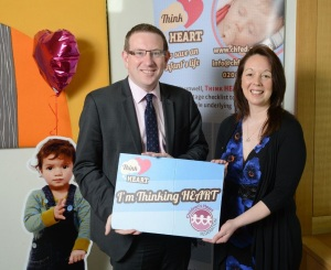 Andrew Gwynne MP ThinkHeart Photocall 2013