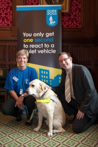Guide Dogs parliamentary reception