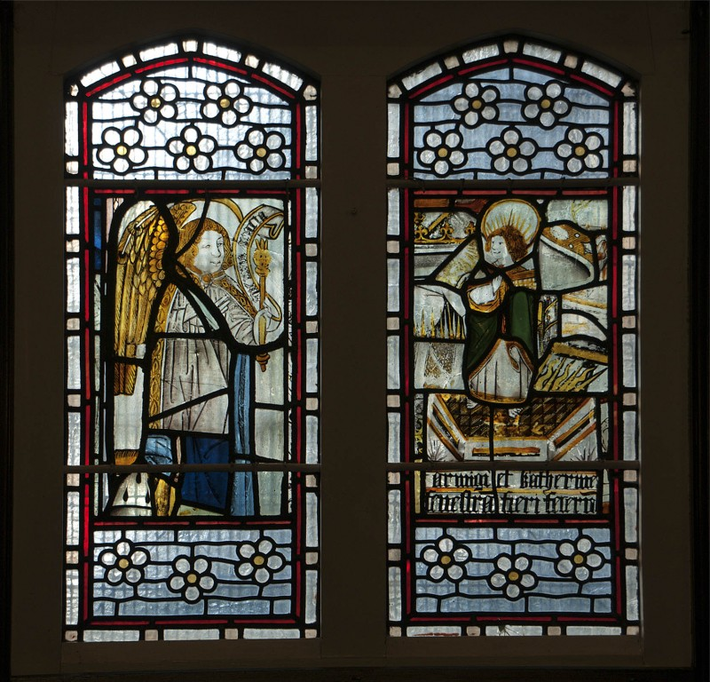 WINDOW: St Lawrence on the gridiron
