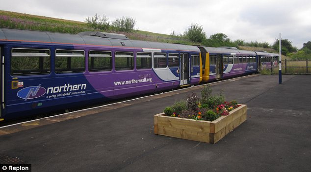 Denton Station's platform has been rebuilt, and improved, thanks to the Friends of Denton