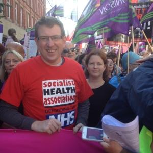 NHS March i