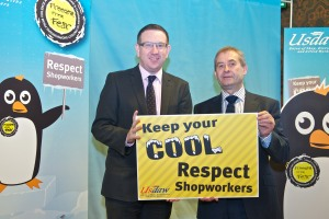 Respect for Shopworkers, Freedom From Fear event, Westminster