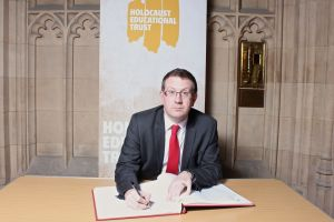 Holocaust Memorial Day signing