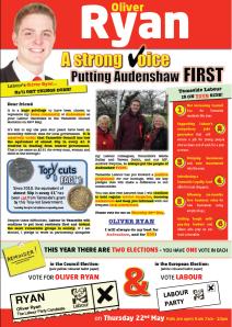 audenshaw leaflet