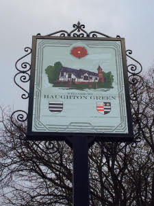 haughton green village sign