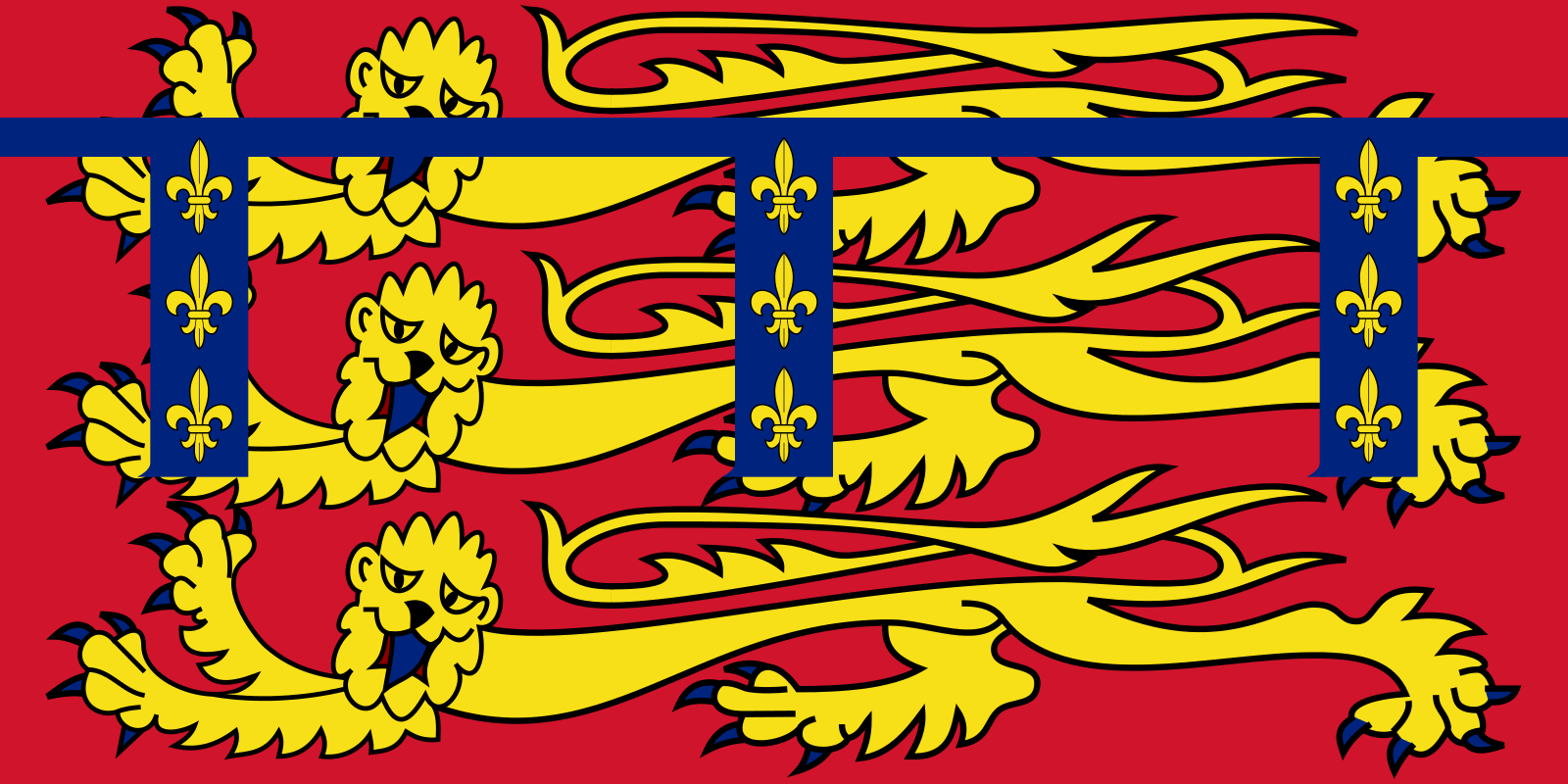 standard of duchy of lancaster