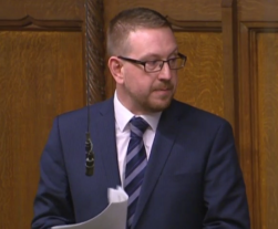 speaking in chamber