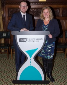 andrew-gwynne-mp-and-sally-harvey-rnib-acting-ceo